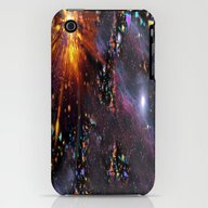 Triangles Space iPhone (3g, 3gs) Slim Case
