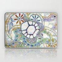 Sea Turtle Paisley  Laptop & iPad Skin