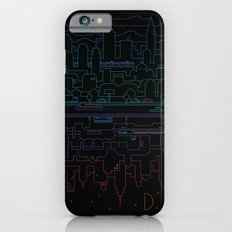 City 24 (Colour) iPhone 6 Slim Case