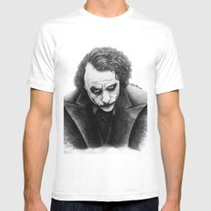 Joker Mens Fitted Tee White SMALL