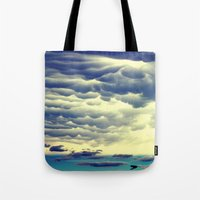 Mammatus Clouds II Tote Bag
