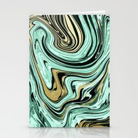 MARBELLOUS IN MINT AND G… Stationery Cards