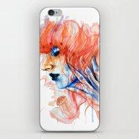 Metamorphosis-jellyfish iPhone & iPod Skin