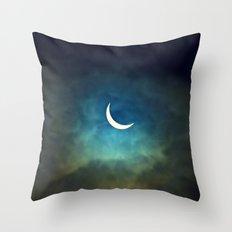 Solar Eclipse 1 Throw Pillow