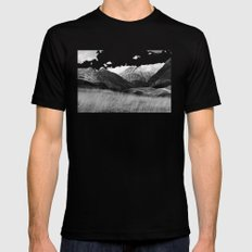 The Ice Cream Mountain Black SMALL Mens Fitted Tee
