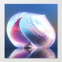 Reflected Shell Canvas Print
