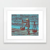 Viet Framed Art Print