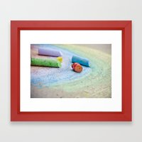The Rainbow Connection Framed Art Print