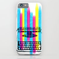 iPhone & iPod Case featuring Typewriter by Elizabeth Cakovan