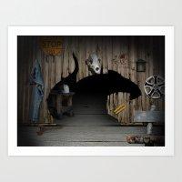 RAT HOME Art Print