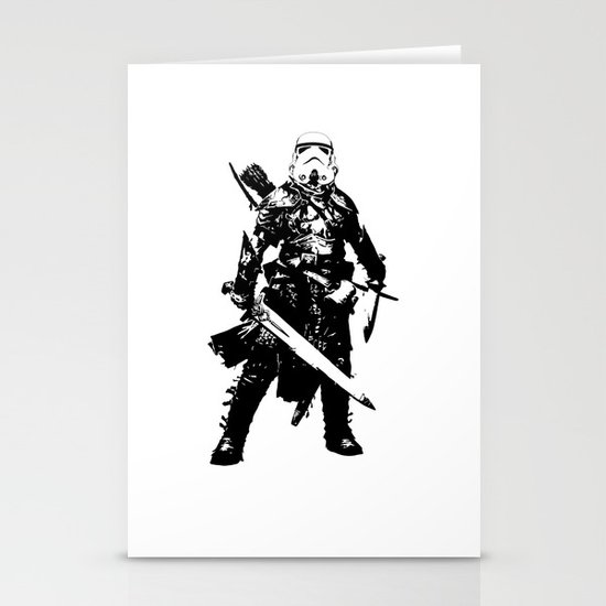 Fantasy Trooper Stationery Card