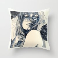 After The Fall Throw Pillow