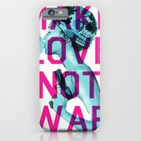 Make Love Not War iPhone 6 Slim Case