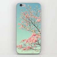 Spring Kissing The Sky iPhone & iPod Skin