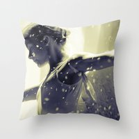 Noir Redux Throw Pillow