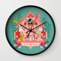 I'm Cuckoo For You - Val… Wall Clock