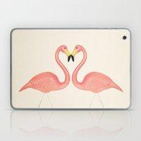 Flamingo Love  Laptop & iPad Skin