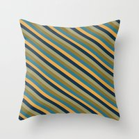 Preppy No.2 Throw Pillow