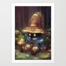 Peace In The Woods Art Print