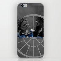 La Belle Et La Bête iPhone & iPod Skin
