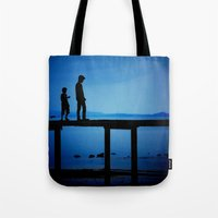 WHEN I'M FEELING BLUE Tote Bag