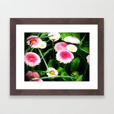 Strawberries and Cream Framed Art Print