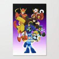 Megaman 2 Canvas Print