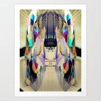 Chromatic Sanctum Art Print