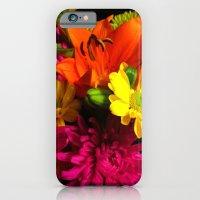 Bouquet of flowers iPhone 6 Slim Case