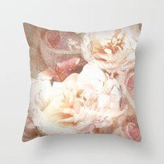 Vie En Rose Throw Pillow