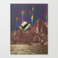 Chill Waves Canvas Print