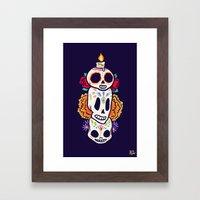 Caliveras Day Of The Dea… Framed Art Print