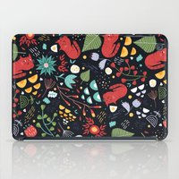 cats and flowers iPad Case