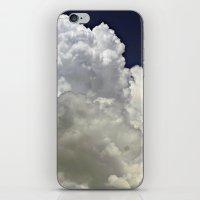 Navy Cloud iPhone & iPod Skin