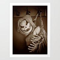 Hanging Jack Art Print
