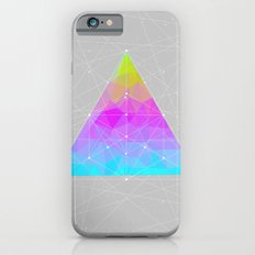 The Dots Will Somehow Connect (Geometric Pyramid) iPhone 6 Slim Case
