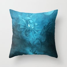 Gyarados Attacking a Pirate Ship Throw Pillow