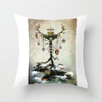 Supernatural - Strange Fruit Throw Pillow