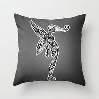 Fairy Flex Throw Pillow