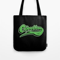 Cthulhu baseball logo Tote Bag