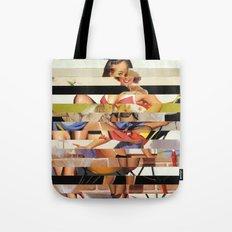Glitch Pin-Up Redux: Gwen Tote Bag