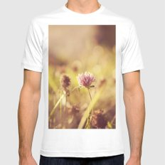 On a Sunny Evening... Mens Fitted Tee SMALL White