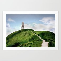 Glastonbury Tor Art Print