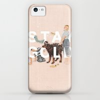 iPhone 5c Cases featuring Stay Gold by Heather Landis