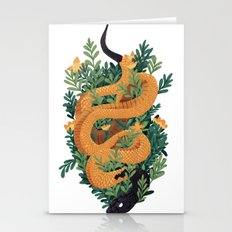 Rue Snake Stationery Cards