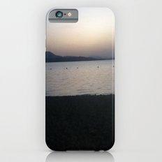 lake dusk iPhone 6 Slim Case