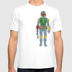 My Favorite Toy - Boba Fett Mens Fitted Tee White SMALL