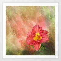 Beautiful Day Lily Art Print
