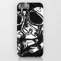 iPhone & iPod Case featuring Space Man by Nick Douillard