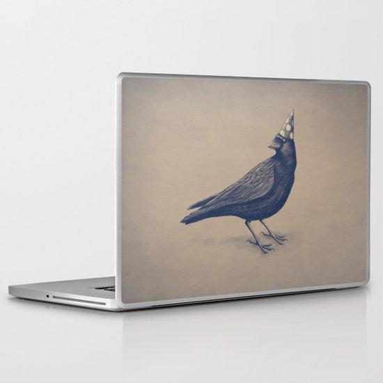 Rocking Raven Laptop & iPad Skin